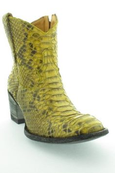 ac4cca430f87 Jane de Boy Mexicana boots Yellow one !!!