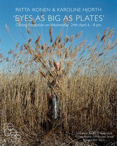 'Eyes as big as Plates' - wearable art, Riita Ikonen & Karoline Hjorth