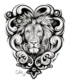 The undisputed king of the animal kingdom - the lion is a standing image of energy and energy. Tattoos based mostly across the lion and lioness have been round for hundreds of years, however nonetheless . Lion Tattoo Design, Tattoo Designs Men, Leo Tattoos, Sleeve Tattoos, Tatoos, Tattoo Sketches, Tattoo Drawings, Lion And Lioness Tattoo, Lion Sketch