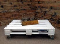 White Pallet Coffee Table weathered gray coffee table | things i love for the home