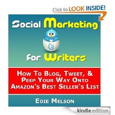 social media for writers kindle book