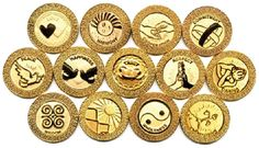 In a Spanish wedding tradition, the groom provides 13 Arras or gold coins signifying his loyalty to his bride. It also symbolizes his duty as a provider. These coins are blessed by the priest and handed to the newlyweds repeatedly, winding up with the bride.