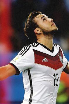 Mario Götze's moment of glory German Football Players, Germany Football Team, Football Is Life, Football Girls, Soccer Players, Football Soccer, Germany Players, Germany Team, Steven Gerrard