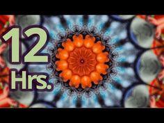 ▶ 12 Hrs. Relaxation music - Living Mandala -Vol 3- For Yoga, Meditation, Reading, Sleeping, Ambience -