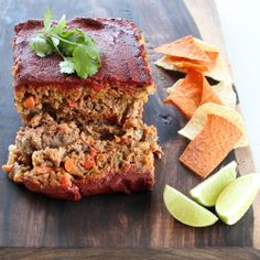 Mexican Meatloaf gives a spicy twist to a classic favorite! {Gluten Free & Vegetarian Options}
