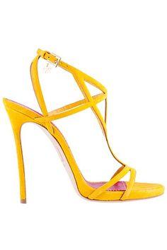 61b135028 Las 15 mejores imágenes de Sandalias amarillas