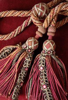 beautiful tassel tie backs