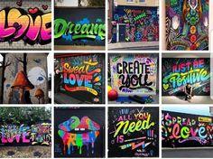 Graffiti, Love, Creative, Amor, Graffiti Artwork, Street Art Graffiti