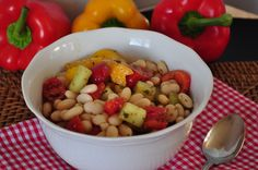 12 Quick & Healthy Salad Ideas - including White Bean Salad