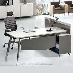 Top quality office furniture wholesale melamine board modern executive desks sale
