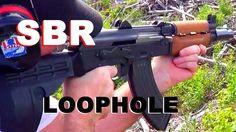 M92 AK Pistol SBR Loophole and Alpine Operations Vlogging