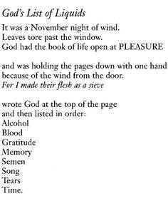 Anne Carson love poems