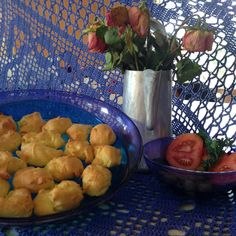 Recipe Little Cheese Puffs by krautermix - Recipe of category Baking - savoury