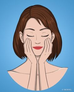 10 ejercicios para tener un rostro joven y firme | Salud Eficaz Yoga Illustration, Beauty Illustration, Beauty Care, Beauty Skin, Beauty Hacks, Facial Yoga, Face Exercises, Face Massage, Yoga Videos