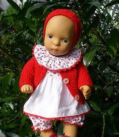 SN Götz Puppe Baby 35 cm  + viel Zubehör, Künstlerpuppe Sylvia Natterer, Doll