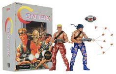 "Check Out These Crazy Cool Contra 7"" Scale Action Figures By NECA  http://htl.li/EfaO302DIHP"