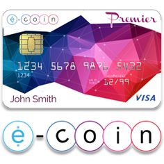 e coin e card btc debit card