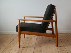 greta jalk mid-century Danish lounge chair in Antiques, Antique Furniture, Chairs   eBay