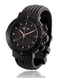 cab616061a All-black Charriol Celtica Chronograph Stealth watch Watches For Men
