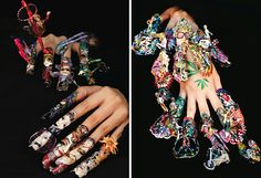 crazy+nail+images   ... Nailed' Book Showcases The Craziest Nail Art We've Ever Seen, Period