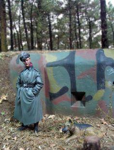 """A Bunker in Sudentenland"" Vignette by Kim Hyun (1/35)"