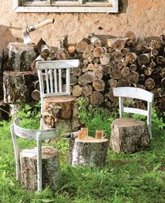 DIY garden furniture ideas – Little Piece Of Me DIY Gartenmöbel Ideen – Little Piece Of Me Outdoor Playspace Diy Garden Furniture, Diy Garden Decor, Garden Art, Furniture Ideas, Furniture Dolly, Furniture Stores, Furniture Online, Furniture Companies, Cheap Furniture