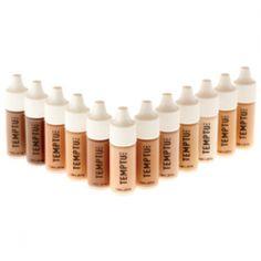 $60 TEMPTU Aqua Airbrush Makeup Starter Set Foundations 12 Pack | eBay
