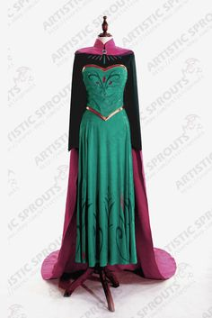 Exclusive Disney Movies Frozen Snow Queen Elsa adult cosplay costume