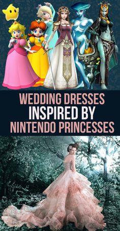 41 Wedding Dresses Inspired By Nintendo Princesses