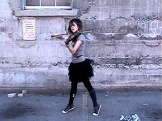 hip hop violin right round - lindsey stirling - Playing the violin was never so COOL!