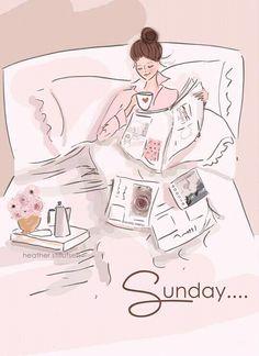 Sunday /Domenica - Art by Heather Stillufsen (Rose Hill)