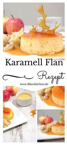 Hätte ich gewusst, wie easy so ein Flan ist, hätte ich dieses wunderbare Dessert schon viel früher selbstgemacht. Mach nicht den gleich Fehler und probiers einfach aus. Hol dir das Rezept für den Karamell Flan jetzt auf www.dilavskitchen.de