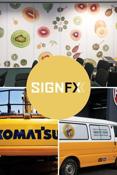 SignFX is the all you need for that point of difference if you need big installations, new and fresh ways to add wayfinding, and other interior signage, large machinery stickers, fleet wraps and large outdoor signage. We loved working with Leanne from SignFX - there is something so incredibly inspiring in seeing someone so completely invested in looking after her clients, her team and her business. Company Signage, Outdoor Signage, Auckland, Small Businesses, Investing, Wraps, Stickers, Fresh, Watch