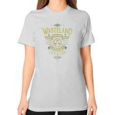 Come to Wasteland Unisex T-Shirt (on woman)