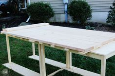 Planked Table