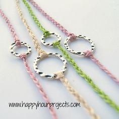10 Minute Bracelet Tutorial | Guest Project » Little Inspiration