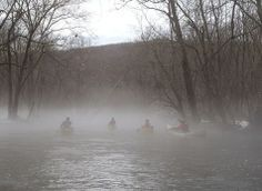 Ramapo River in Mahwah/Oakland, NJ on Dec. 22, 2013 Submitted by: Fat Elmo - Ringwood, NJ
