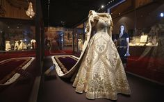 Queen Elizabeth II Norman Hartnell Coronation Gown, Robe, Jewels on Display at new Buckingham Palace Exhibition François Lesage, Commonwealth, Queen's Coronation, Norman Hartnell, Court Dresses, Isabel Ii, Her Majesty The Queen, Queen Elizabeth Ii, Fashion History