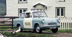 Ford Anglia Police photos - Free pictures of Ford Anglia Police for your desktop. HD wallpaper for backgrounds Ford Anglia Police photos, car tuning Ford Anglia Police and concept car Ford Anglia Police wallpapers. British Police Cars, Old Police Cars, Ford Classic Cars, Classic Trucks, Ford Motor Company, Emergency Vehicles, Police Vehicles, Michigan, Ford Anglia