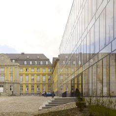 Max Dudler Architekt - Folkwang Bibliothek, Essen
