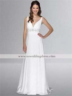 Simple Plus Size Wedding Dresses Informal Wedding Dress - product summary - Bing Shopping