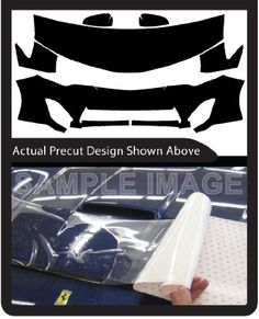 Chevrolet Equinox 2016-2017 PreCut 3M Scotchgard Paint Protection Clear Bra Kit