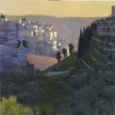Kidron Valley, early evening, by Andrew Gifford