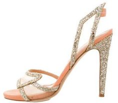 55735c38966 Aperlai Glitter Multistrap Sandals on sale at TheRealReal Glitter Sandals