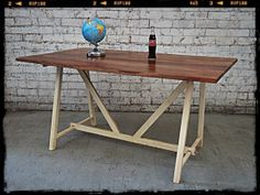 Holy Funk - Industrial Style Kitchen Table, $429.00 (http://www.holyfunk.com.au/furniture/industrial-style-kitchen-table/)
