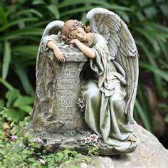 Beautiful Weeping Angel Garden Statue | My Garden | Pinterest | Garden  Statues And Gardens