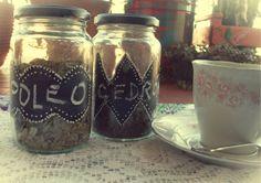 Tus Manos y las Mias: Y DESPUÉS DE LAS FIESTAS.... glass jars