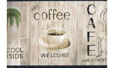 Welcome Coffee Shop Wallpaper Border Dream Wall Decor SALE   Welcome Coffee  Shop Wallpaper Border Kitchen. Wallpaper Borders Bring Color, Character And  ...