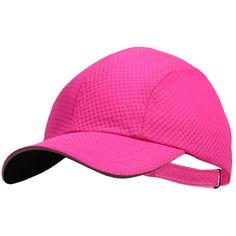 Women's Race Day Running Cap - pink punch