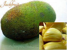 How to Choose and Cut Jackfruit? Jackfruits are one of the tastiest tropical fruits in the world. Cutting it needs little experience, which I have explained in detail here. Exotic Fruit, Tropical Fruits, How To Cut Jackfruit, Jackfruit Recipes, Easy Indian Recipes, Vegan Life, Fruits And Veggies, Things To Know, Avocado